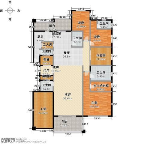 金地佘山天境3室0厅5卫1厨265.00㎡户型图