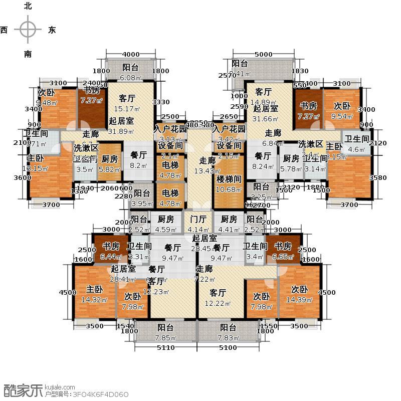 尚品雅居尚品雅居户型图3栋1座偶数层平面户型图(26/31张)户型10室