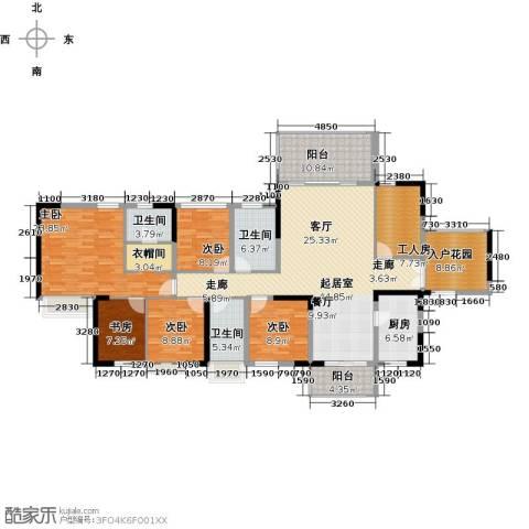 深房传麒山5室0厅3卫1厨179.00㎡户型图