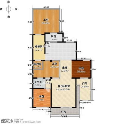 鹏欣一品漫城三期1室0厅1卫1厨266.00㎡户型图