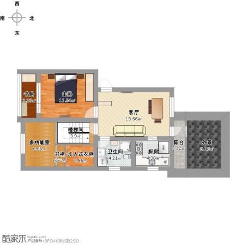建中路171弄小区2室1厅1卫1厨100.00㎡户型图