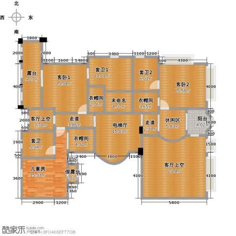 中信御园1室0厅0卫0厨226.00㎡户型图