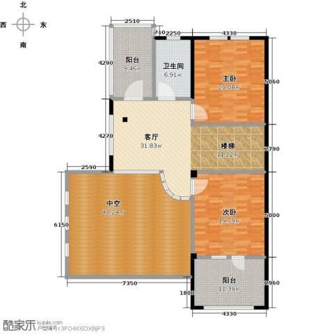 凯迪赫菲庄园2室1厅1卫0厨372.00㎡户型图