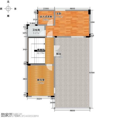 武汉锦绣香江1室0厅1卫0厨267.00㎡户型图