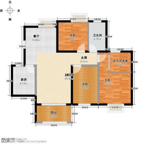 花样年别样城2期3室0厅1卫1厨103.00㎡户型图