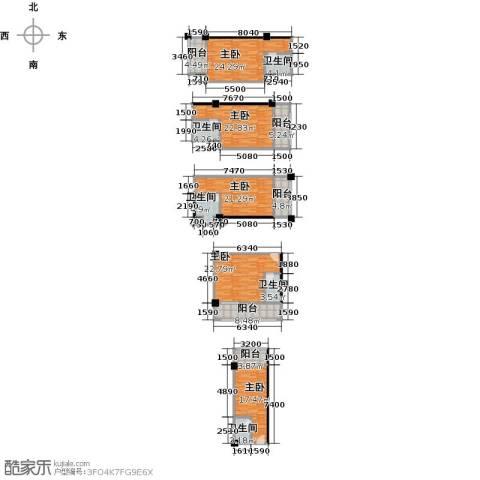 奥龙商厦5室0厅5卫0厨222.00㎡户型图