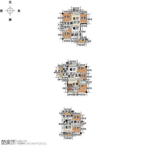 奥龙商厦9室0厅5卫3厨403.00㎡户型图