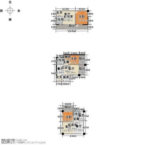 奥龙商厦3室0厅3卫2厨237.00㎡户型图