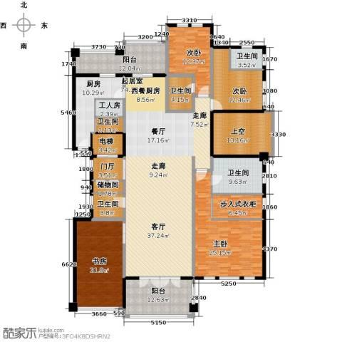 金地佘山天境4室0厅5卫1厨265.00㎡户型图