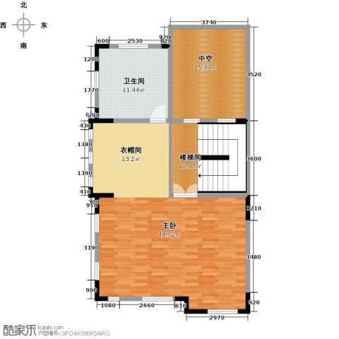 团泊湖光耀城1室0厅1卫0厨119.00㎡户型图