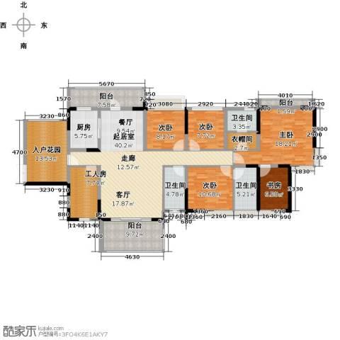 深房传麒山5室0厅3卫1厨178.00㎡户型图