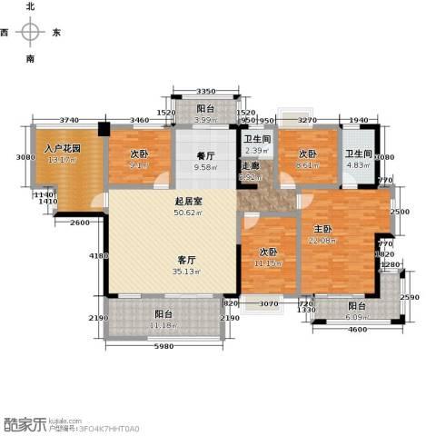 华盛・世纪新城4室0厅2卫0厨205.00㎡户型图
