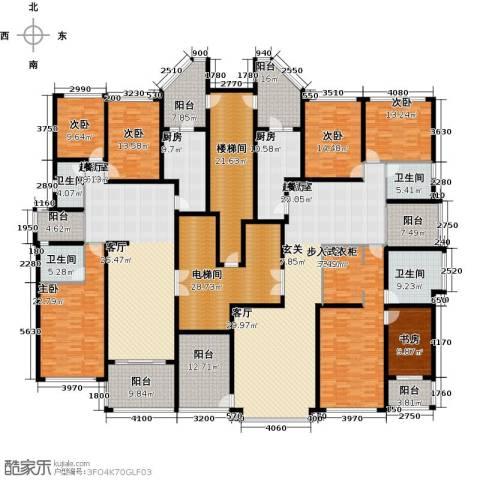 恒大华府7室0厅4卫2厨371.41㎡户型图