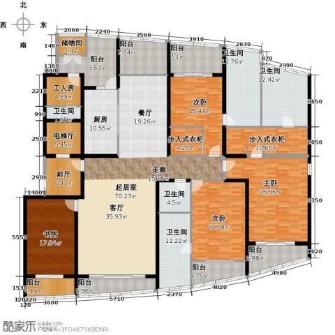 湖滨御景花园4室0厅5卫1厨399.00㎡户型图