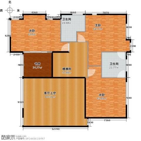 汤臣湖庭花园4室0厅2卫0厨425.00㎡户型图