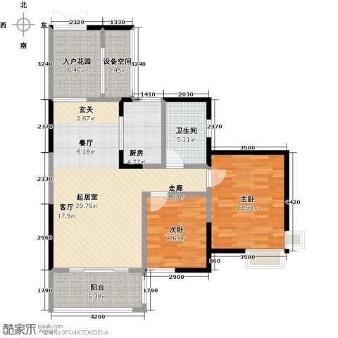 领御玺台2室0厅1卫1厨112.00㎡户型图