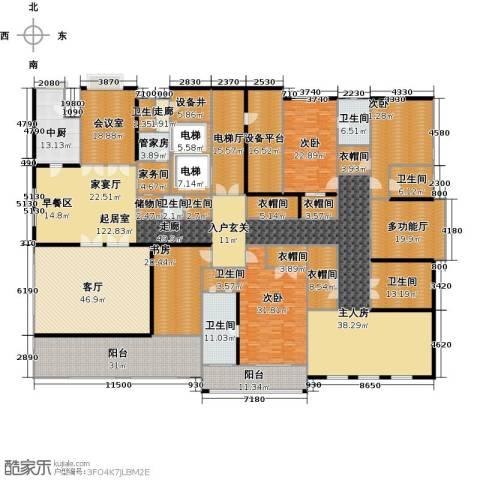 伊泰华府世家4室1厅8卫0厨540.00㎡户型图