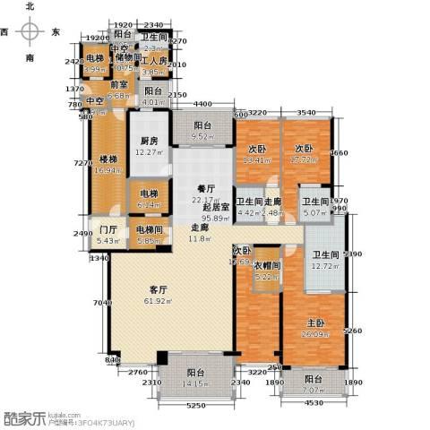 澳润公馆4室0厅4卫1厨431.00㎡户型图