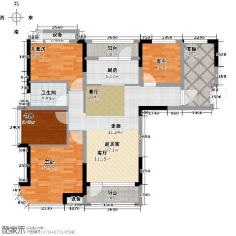 迁安碧桂园4室0厅1卫1厨113.00㎡户型图