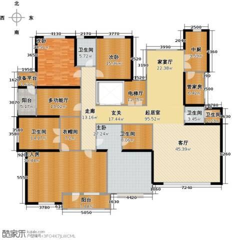 伊泰华府世家3室0厅5卫0厨323.00㎡户型图