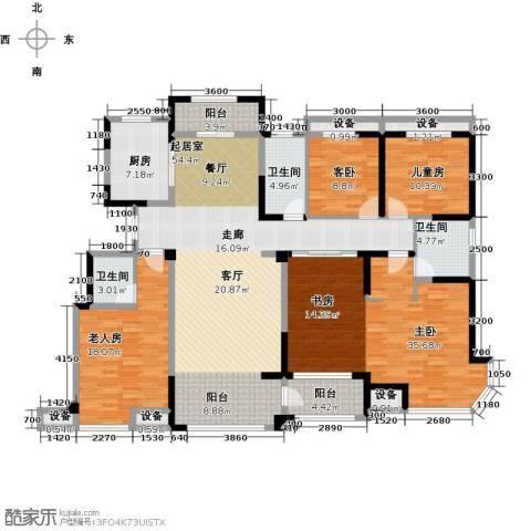 迁安碧桂园4室0厅3卫1厨178.00㎡户型图