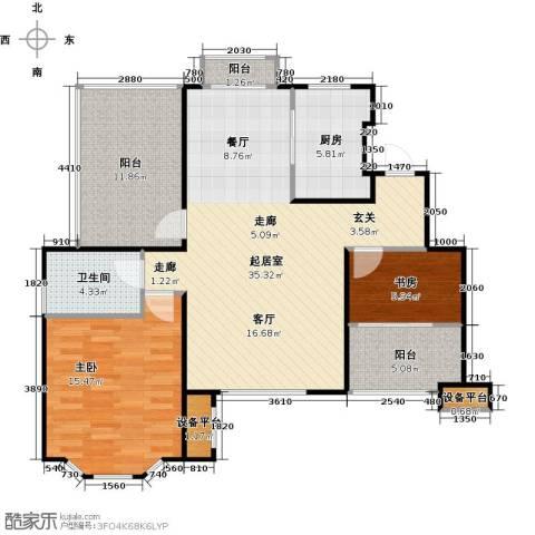 花田洋房2室0厅1卫1厨94.00㎡户型图