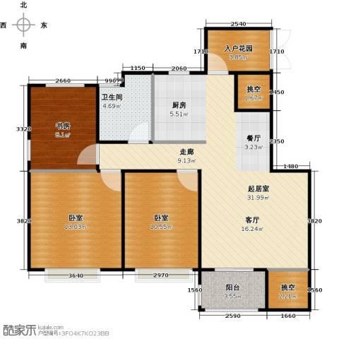 南山雨果1室0厅1卫0厨88.00㎡户型图