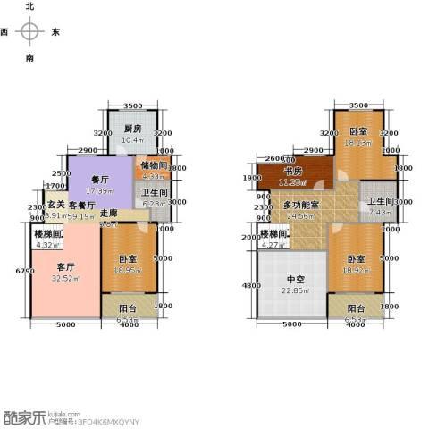 城发花园1室1厅2卫1厨299.00㎡户型图