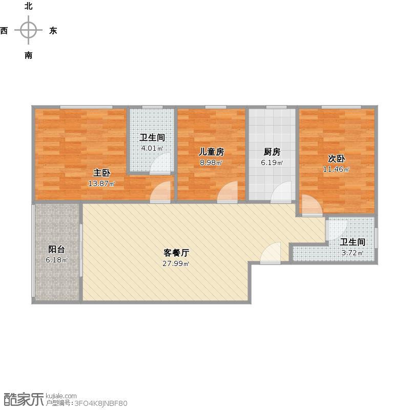 隆源+8号楼A1+改后户型