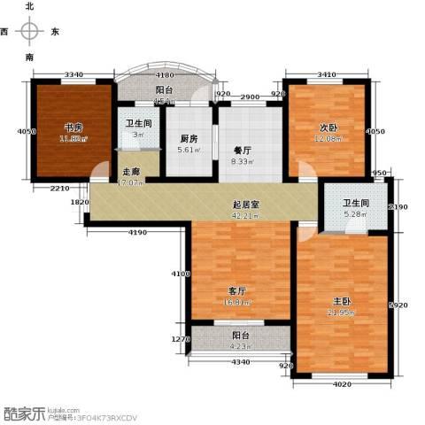国润城3室0厅2卫1厨158.00㎡户型图