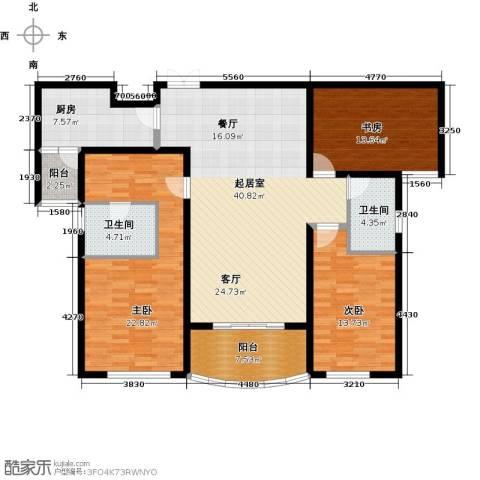 国润城3室0厅2卫1厨166.00㎡户型图