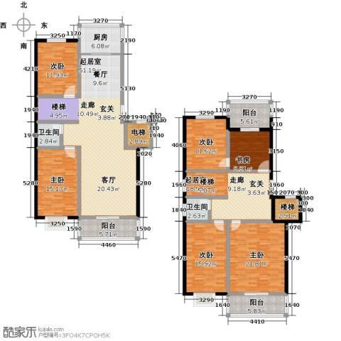 向阳花园6室0厅2卫1厨217.00㎡户型图