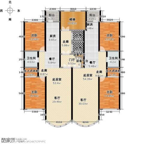 金榜苑4室0厅2卫0厨298.00㎡户型图