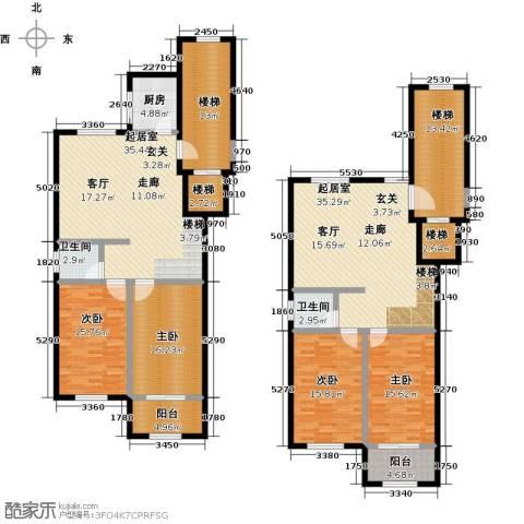 向阳花园4室0厅2卫1厨212.00㎡户型图