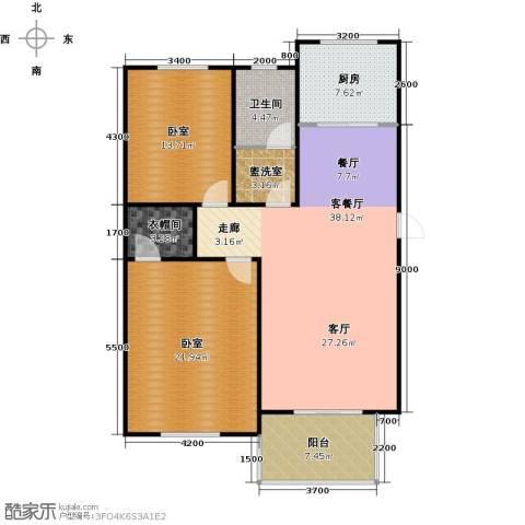 东辰清风港1厅1卫1厨107.00㎡户型图