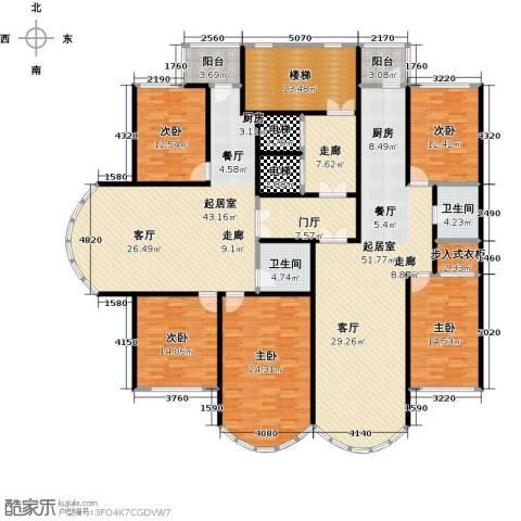 金榜苑5室0厅2卫0厨312.00㎡户型图
