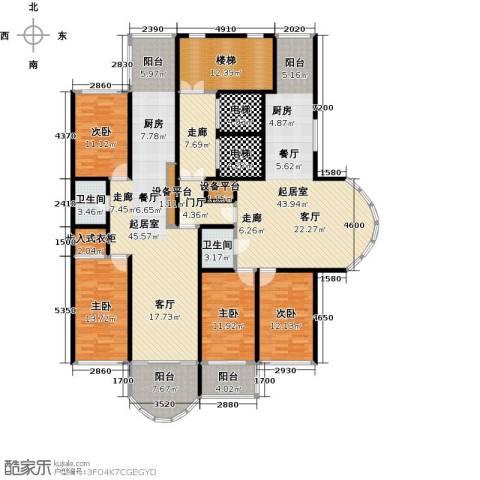 金榜苑4室0厅2卫0厨272.00㎡户型图