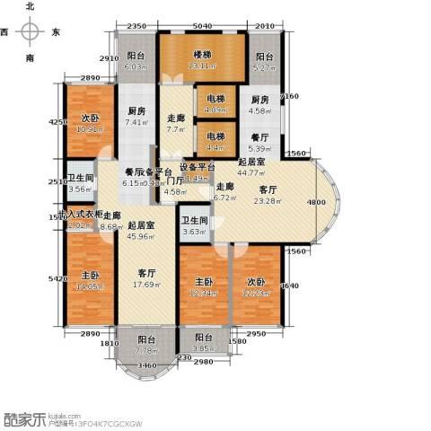 金榜苑4室0厅2卫0厨277.00㎡户型图