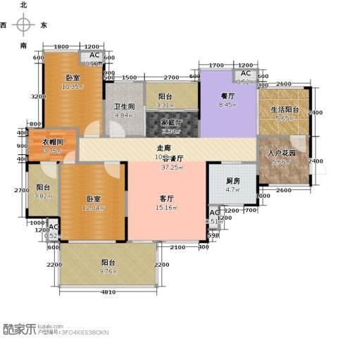 城央一品1厅1卫1厨141.00㎡户型图