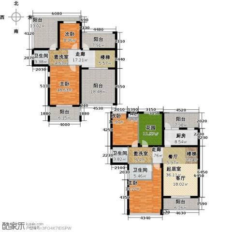 恒信中央公园4室0厅3卫1厨204.89㎡户型图