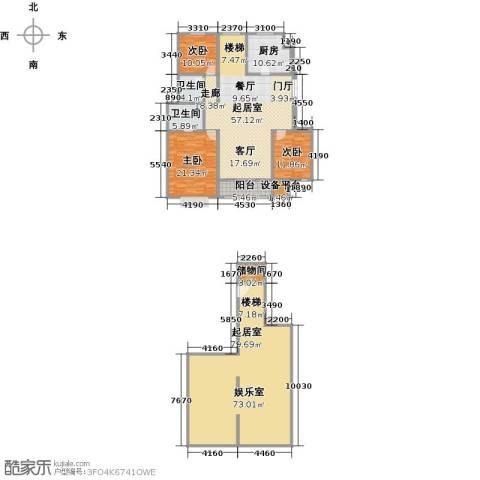 吉宝季景兰庭3室0厅2卫1厨289.00㎡户型图
