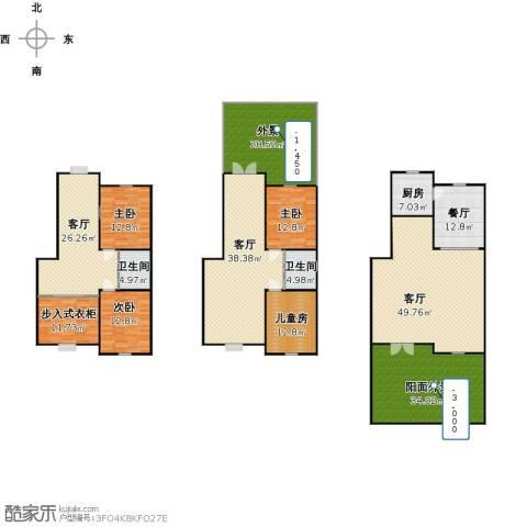 英伦小镇4室4厅2卫1厨353.00㎡户型图