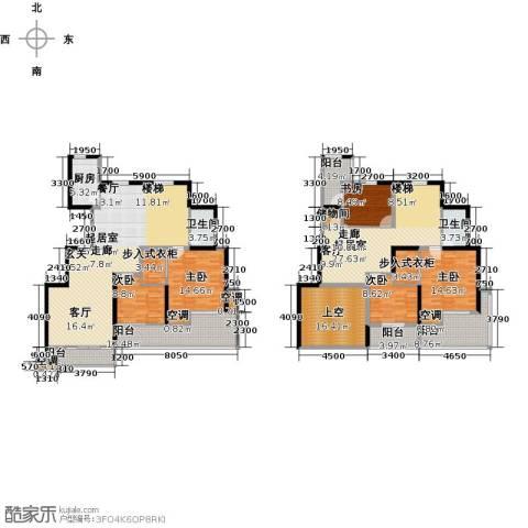 沂龙湾慧园5室0厅2卫1厨298.00㎡户型图