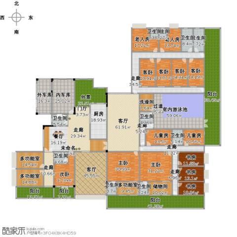 晋愉碧怡林畔东岸9室2厅9卫1厨1144.00㎡户型图