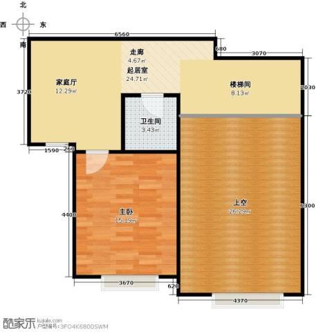 宝能城1室0厅1卫0厨173.00㎡户型图