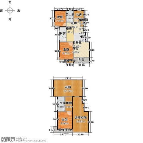 万科魅力之城三期4室0厅2卫1厨146.00㎡户型图