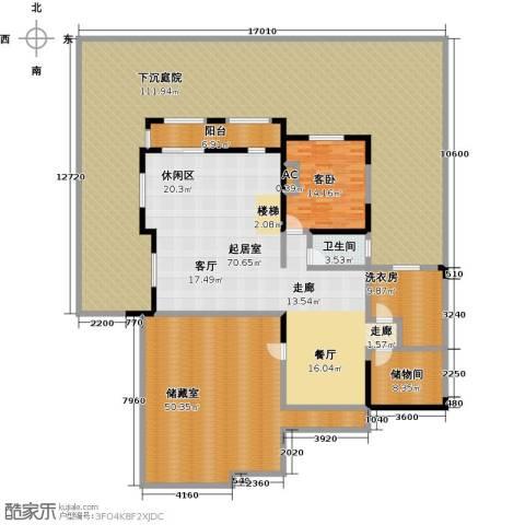 鸿威・翡翠城1室0厅1卫0厨380.00㎡户型图