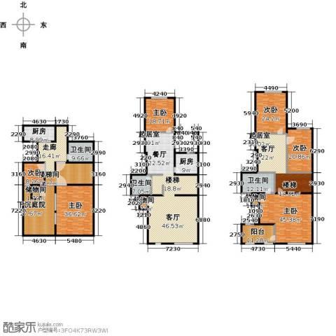 国润城6室0厅3卫2厨560.00㎡户型图