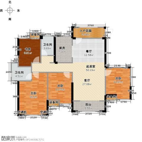 星河荣御4室0厅2卫0厨135.00㎡户型图