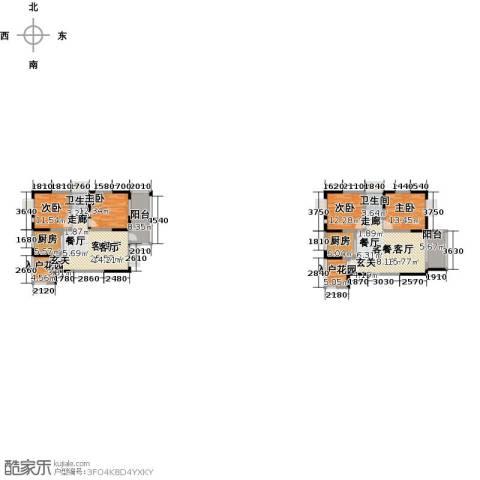 布鲁斯国际新城4室2厅2卫2厨210.00㎡户型图